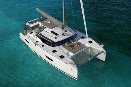 Hire Catamaran Fountaine Pajot  Saona 47 Trogir