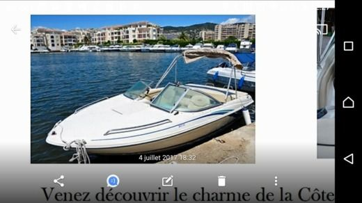 Rental Motorboat Sea Ray 180 Closed Bow Mandelieu-La Napoule