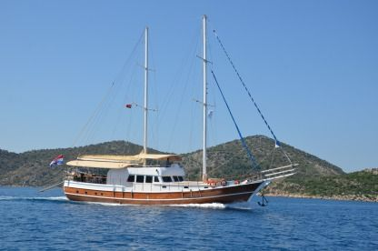 Charter Sailboat Custom Built Gulet Split
