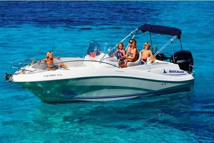 Rental Motorboat QUICKSILVER 635 COMMANDER Paxi