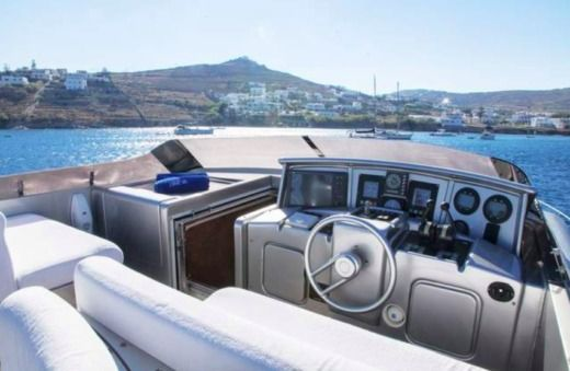 Charter Motorboat Posillipo Technema 80 Flybridge Mykonos