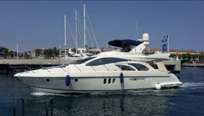 Miete Motorboot Azimut 55 Fly Marseille