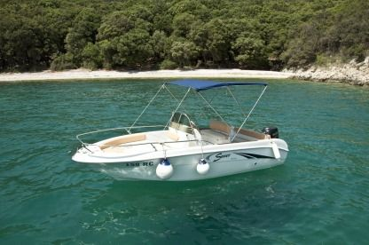 Rental Motorboat Saver 550 Open Rabac