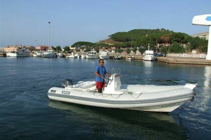Miete RIB Sea Water Flamar 550 Arbatax