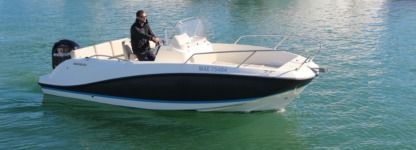 Charter Motorboat Quicksilver 605 Agay