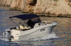 Motorboat Atlantic Marine 7.5. for hire