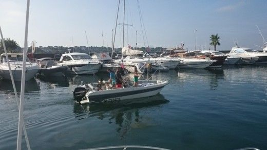 Ultramar Open 570 in Antibes for hire