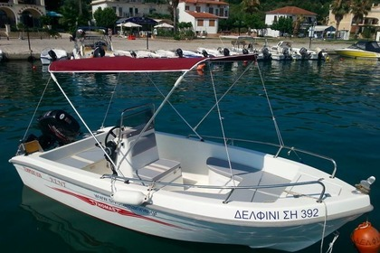 Rental Motorboat Thomas 480 Syvota
