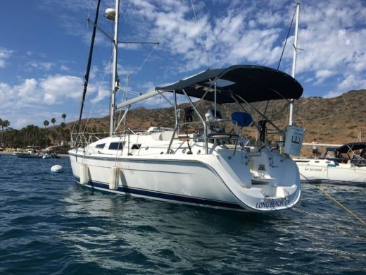 Hunter 33' Sailboat in Long Beach for hire
