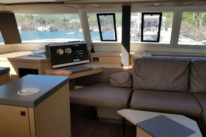 Charter Catamaran FOUNTAINE PAJOT Saona 47 with watermaker & A/C - PLUS Tortola