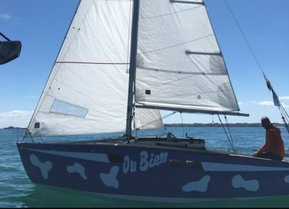 Rental Sailboat Aubin Muscadet Dl St-Malo