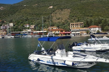 Charter Motorboat aiolos 19 f Lefkada