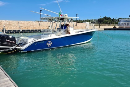 Rental Motorboat Blue Water Marine Palmetto 33 offshore Polignano a Mare