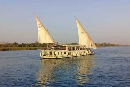 Hire Sailboat Egypt Dahabiya Dream Luxury Sailing boat Luxor