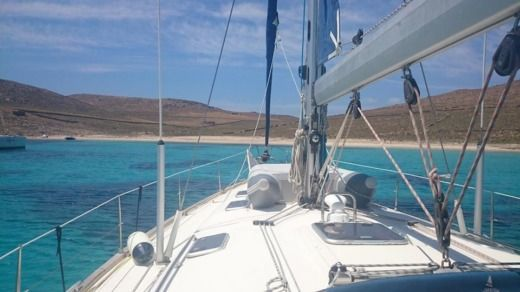 Rental Sailboat Bavaria Cruiser Paros