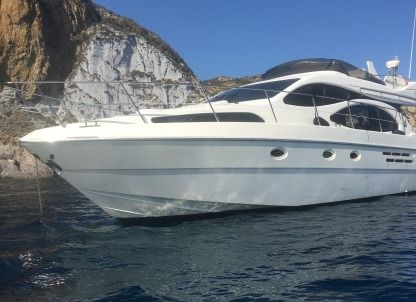 Rental Motorboat Azimut Azimut 46 Fly Terracina