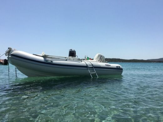 RIB Italboats Predator 490 for hire