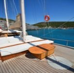 Rental sailboat in Bodrum