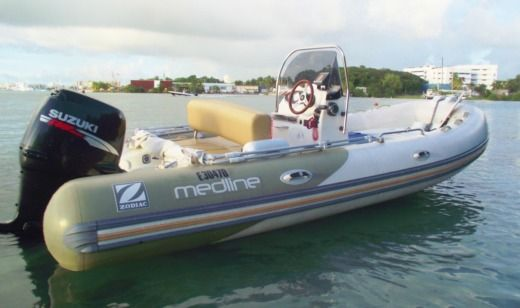 Zodiac Médline 550 in Gourbeyre for hire