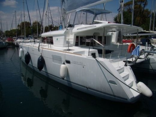 Catamaran Lagoon 450 S peer-to-peer
