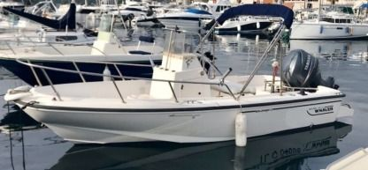 Rental Motorboat Boston Whaler Outrage 17 Porquerolles