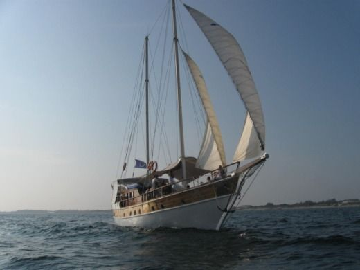 Sailboat Bodrum Caïque Turque for hire
