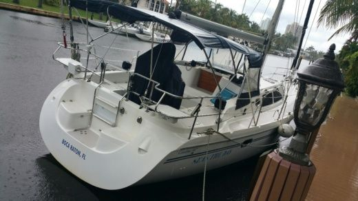 Sailboat Catalina 387 for hire
