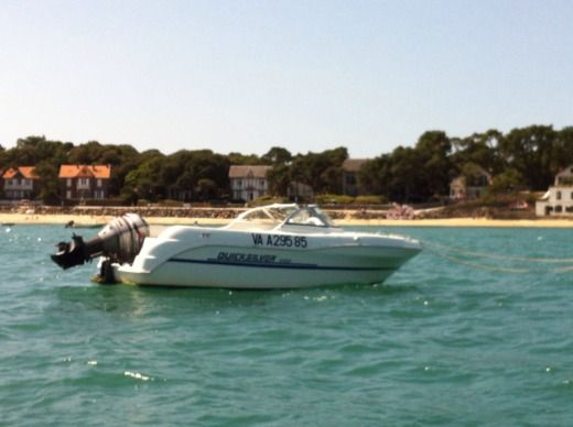 Charter motorboat in Pornic
