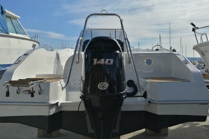 Rental Motorboat Okiboats Barracuda 545 Split