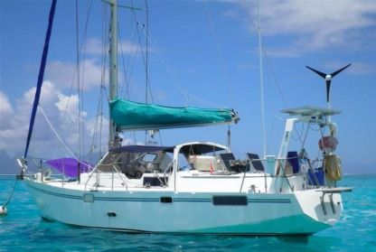 Charter Sailboat Kurlande Kurlande 36 Antisiranana