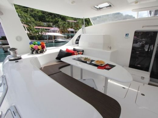 Charter catamaran in British Virgin Islands