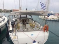 Charter sailboat in Rhodes