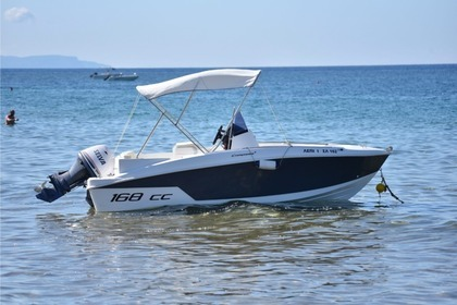 Hire Motorboat Compass 168 CC Corfu