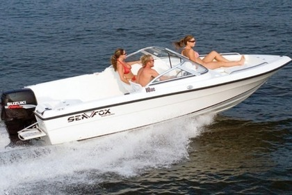 Rental Motorboat Sea Fox 180 DC Novalja