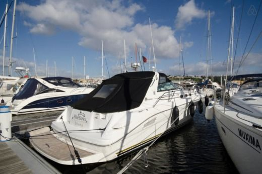 Rental Motorboat Sea Ray 370Sundancer Porto