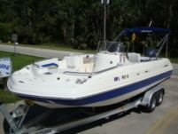 Motorboat Hurricane Deck Boat Fd231