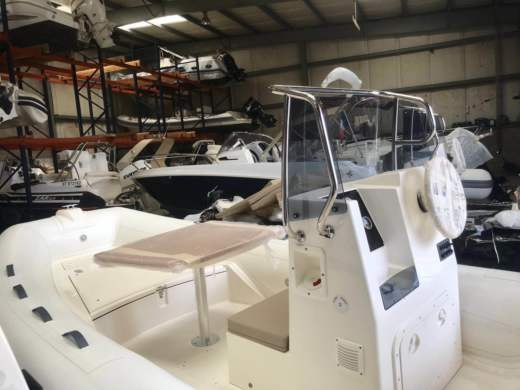 RIB Capelli Tempest 530 Shark Iii Model 2018 for hire