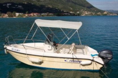 Rental Motorboat Poseidon Blue Water lefkas