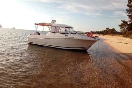 Charter Motorboat JEANNEAU MERRY FISHER 725 Setubal