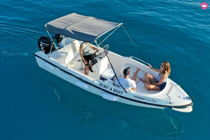 Hire Motorboat Fun Boats 5,10 Kiato