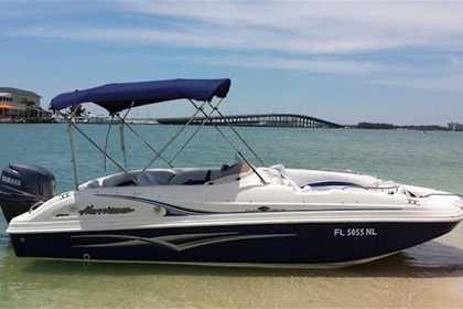 Rental Motorboat Hurricane 21 Miami