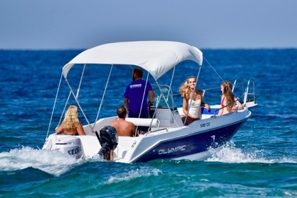 Hire Motorboat Olympic 580 CC Corfu