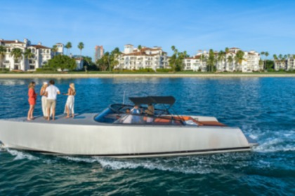 Miete Motorboot Van Dutch 40 Miami Beach