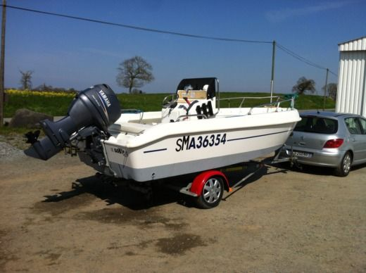 Motorboat Arkos Open 507 for hire