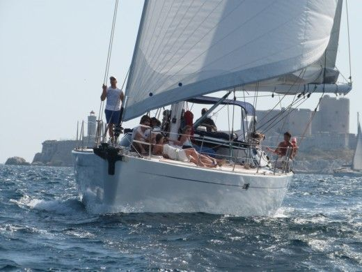 Charter sailboat in Leucate