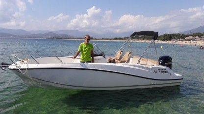 Rental Motorboat Quicksilver Activ 675 Open Ajaccio
