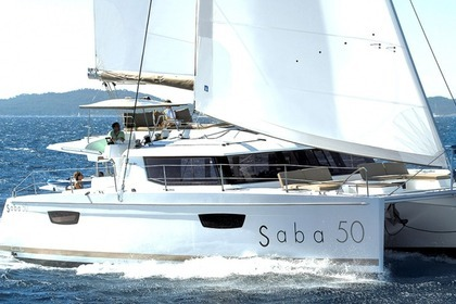 Hire Catamaran Fountaine Pajot Saba 50 Quintet (6+2) Trogir