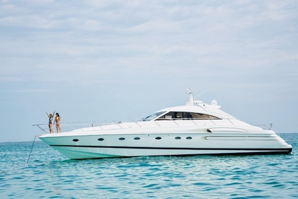 Miete Motorboot Princess V65 Miami Beach