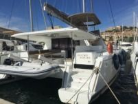 Location Catamaran Fountaine Pajot Helia 44 Calvi