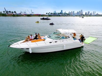 Miete Motorboot Sea Ray Sundancer Miami
